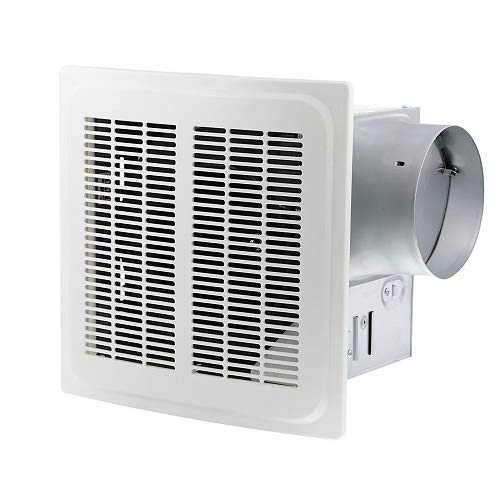 Hampton Bay 7136-01 140 CFM Ceiling Humidity Sensing Bathroom Exhaust Fan best to buy