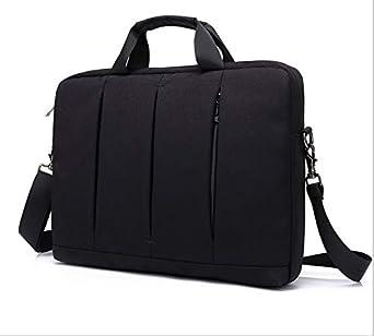 حقيبة لاب توب من النايلون للسفر مع حزام كتف لهاتف لينوفو ثينك باد X1 إكستريم / ليجيون Y730 (15 بوصة) / لينوفو V330 / أسوس فيفوبوك S15 / MSI GT63 تيتان 8RG / ايسر أسباير 5 15.6 بوصة
