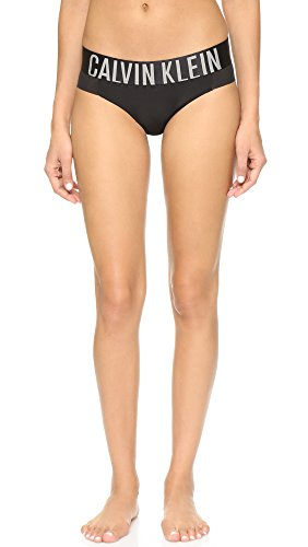 Calvin Klein Bikini Brief (Calvin Klein Underwear Women's Intense Power Bikini Briefs, Black, Medium)