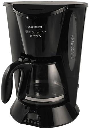 Taurus Tutto Aroma 12 Tempus, Negro, 780/920 W, 220 - Máquina de café: Amazon.es: Hogar
