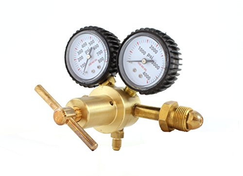 Nitrogen / Inert Gas Regulator 0-400 PSIG – HVAC Purging – Inertization