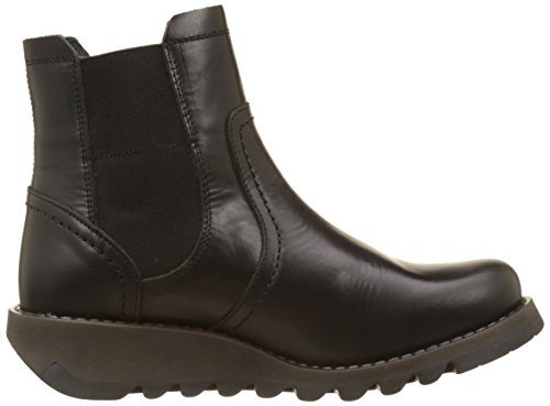 FLY London Scon058fly Chelsea Black Women's Boot Rug Z1ZqrzB7