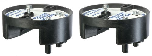 Arlington FB415-2 10.3 Cubic Inch Press-On Fan and Fixture Mounting Box Kit, 2-Pack