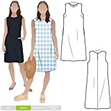 Style Arc Sewing Pattern - June Sheath Dress (Sizes 10-22)