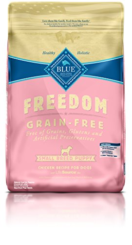 BLUE Freedom Puppy Small Breed Grain Free Chicken Dry Dog Food 11-lb (Food Breed Puppy Small)
