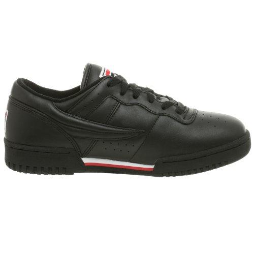 Sneaker Fitness Da Uomo Nero / Bianco / Rosso