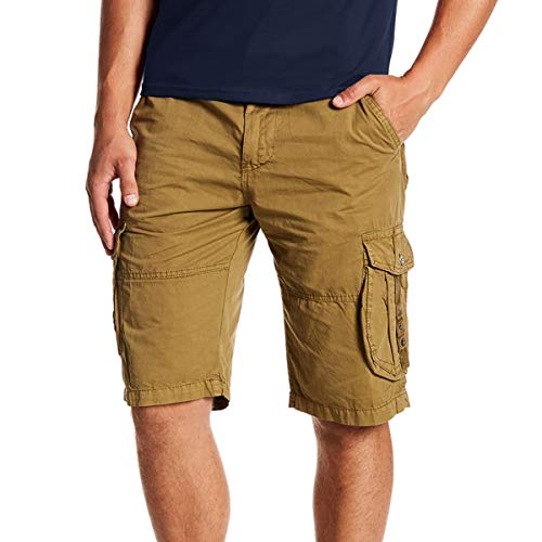 XRAY Men's Belted Twill Tape Grommet Cargo Shorts | 12.5