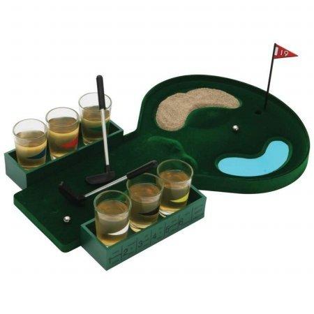 B&F SPDGOLF Golf Shot Glass Drinking Game Set by B&F
