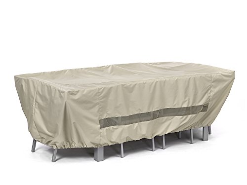 CoverMates – Rectangular Dining Table/Chair Set Cover – 90W x 58D x 30H – Elite Collection – 3 YR Warranty – Year Around Protection - (Collection Patio Dining Set)