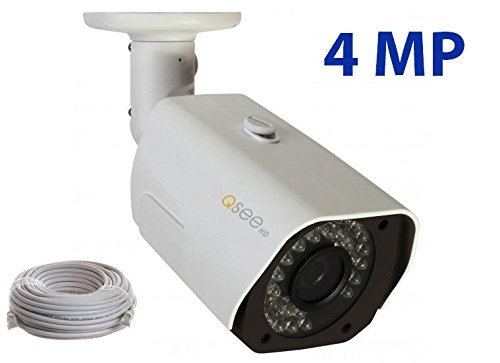Q-See QCN8026B 4MP 1080p HD IP Bullet Security Camera by Q-See