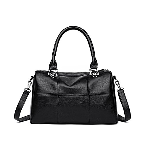 Bag Ladies 2018 Black Single Capacity E Inclined Lady Fashion Double Meaeo Span Simple Claretbag Large Shoulder tE6Bn