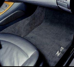 Bmw Carpet Floor Mats (BMW Carpet Floor Mats Z4 Coupe & Roadster (2002-2008)- Black)