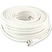 Swann 100ft BNC Cable, Video & Power for Surveillance/ Security Cameras - SW-CABLE100