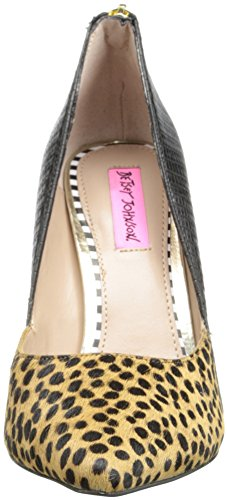 Betsey Johnson Womens Blyss Dress Pump Leopard Multi ifUQOU2y8