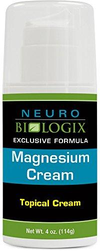 Neurobiologix – Magnesium Topical Cream 4oz (70 Pumps) For Sale