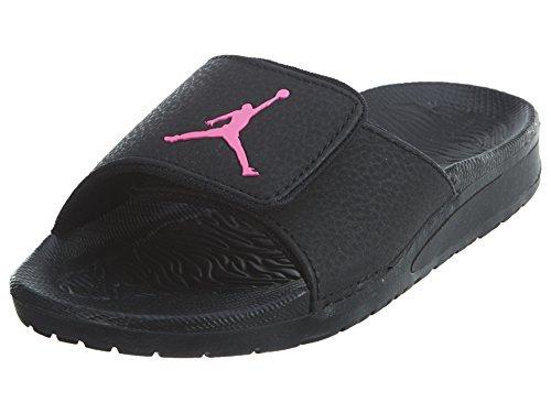 JORDAN Kids Hydro 6 GP Sandal Black Hyper Pink Size 12