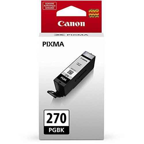 Canon PGI-270 Pigment Black Ink Tank + Canon CLI-271 CMYK Ink Tank 4-Pack Photo #2