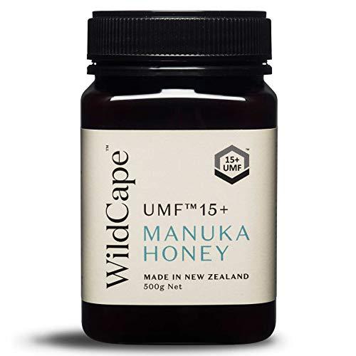 WildCape UMF 15+ East Cape Manuka Honey, 500g (1.1 lb) (Forest Honey Wild)