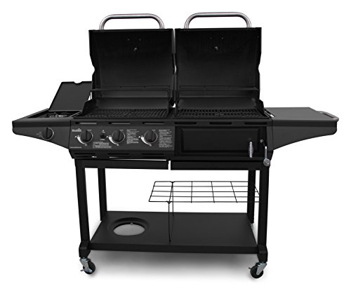 Char Broil Gas Amp Charcoal Combo Grill Standard Gas