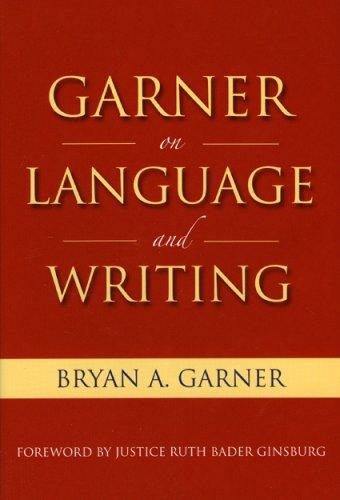 Garner on Language & Writing by Brand: American Bar Association