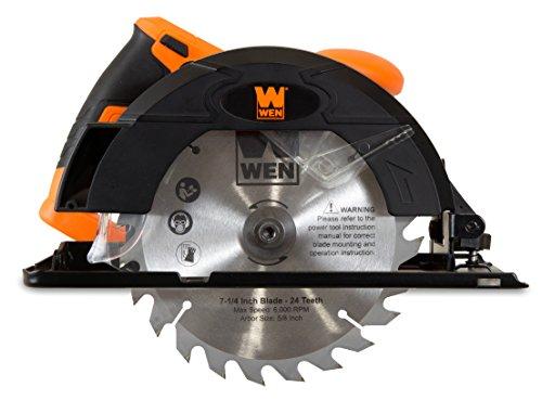 WEN 3614 12 Amp Sidewinder Circular Saw, 7-1/4'