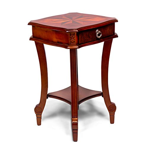All Things Cedar All Designer End Table, Cherry
