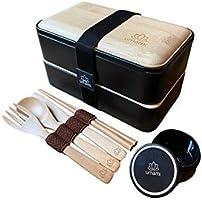 Umami Eco Lunch Box en Fibre De Bambou | Bento 100% écologique | Passe Au Lave-Vaisselle | Durable, Sain & Design |...