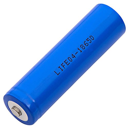 LIFEO4-18650 Lithium Iron Phosphate (LiFeP04) Solar Light Replacement Battery