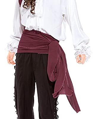 ThePirateDressing Pirate Medieval Renaissance Linen Large Sash