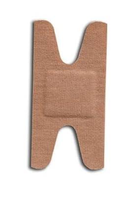 "McKesson Medi Pak Performance Bandage Adhesive Fabric Knuckle 1.5""X3"" Latex Free - Box of 100"