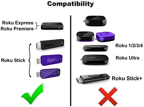 Roku Micro USB Power Adapter with USB Cable for Roku Streaming Stick, Roku Express and Roku Premiere