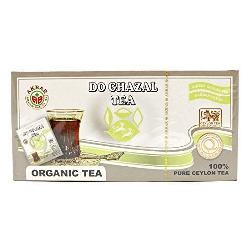 Do Ghazal Organic Black Tea 2 Gr x 25 TB