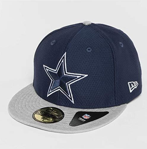 ルビー地理開いたニューエラ (New Era) 59フィフティ キャップ - DRY EAR ダラス?カウボーイズ (Dallas Cowboys) ネイビー