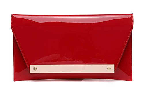 Blue Red Envelope Bag Evening Fashion Hand Hand Bag Korean Color Bag Packet Bag 4Hawxn7pP