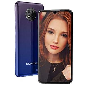 Mobile Phone, OUKITEL C19 Android10.0 Phones,4G Sim Free Unlocked Smartphone,6.49 inch Full Screen,4000mAh Battery, 13MP…