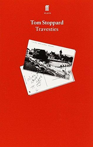 Travesties by Tom Stoppard (1975-09-22) (Travesties Tom Stoppard)