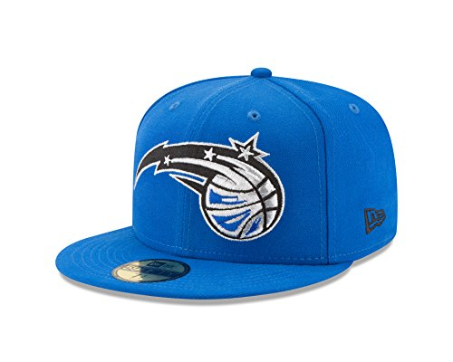 Nba Orlando Magic Logo Grand Fitted 59Fifty Cap  7 5  Blue