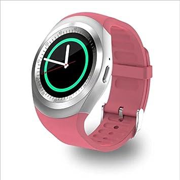WMWMY Reloj Inteligente con Pantalla Táctil Cámara SD Mens Watch ...