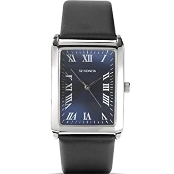 632d95ea8c2f Sekonda Mens Square Dial Leather Strap Watch 3223  Babar  Amazon.co.uk   Watches