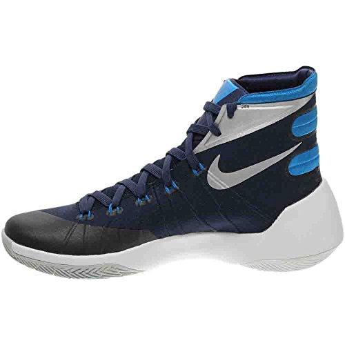 Nike Herren Hyperdunk 2015 Basketballschuh Navy / Foto Blau / Weiß