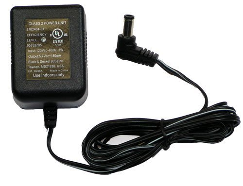 Black & Decker Replacement Charger for GSN30, GSN32, GSN35 #90552795