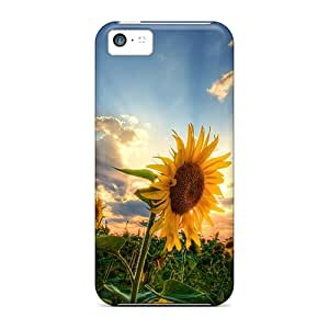 Iphone 5c Case Slim [ultra Fit] Sunflowers Protective Case Cover