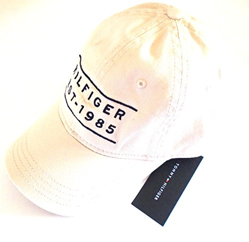 tommy-hilfiger-baseball-hat-cap-beige-classic-established-company-logo
