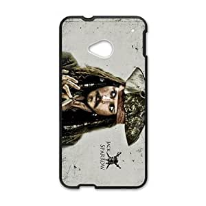 Pirates of the Caribbean HTC One M7 Cell Phone Case Black F5G0DW