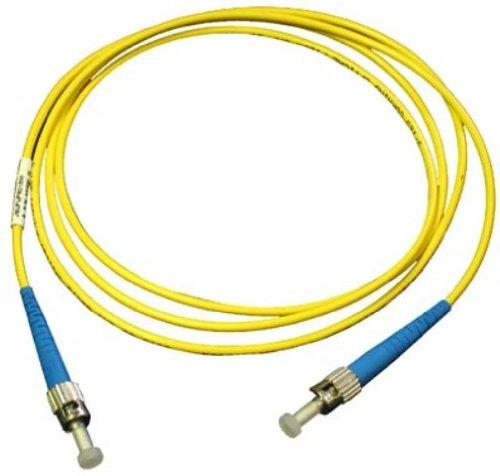 Videk 1m 62.5/125 ST to ST Duplex Fiber Optic Cable