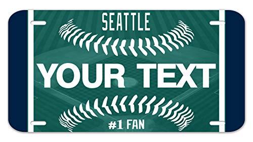 Bleu Reign Personalized Custom Name Baseball Team Seattle 12