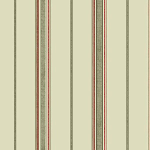 York Wallcoverings GC8751 Waverly Kids Incense Stripe Wallpaper, Beige/Taupe/Coral/Peach/Brown