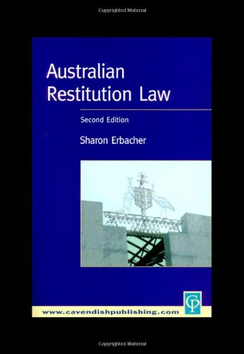 Australian Restitution Law, 2nd Edition