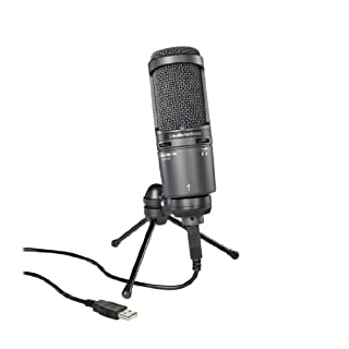 Audio-Technica AT2020USBPLUS Deluxe USB Cardioid Condenser Microphone (B00B5ZX9FM) | Amazon Products
