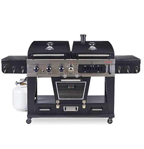 Best Hybrid Grills Of 2019 Gas Charcoal Or Both As A